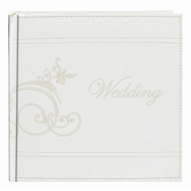 Pioneer 4x6 Embroidered Wedding Photo Album style DA-200EMPW  at Frame It Waban Gallery