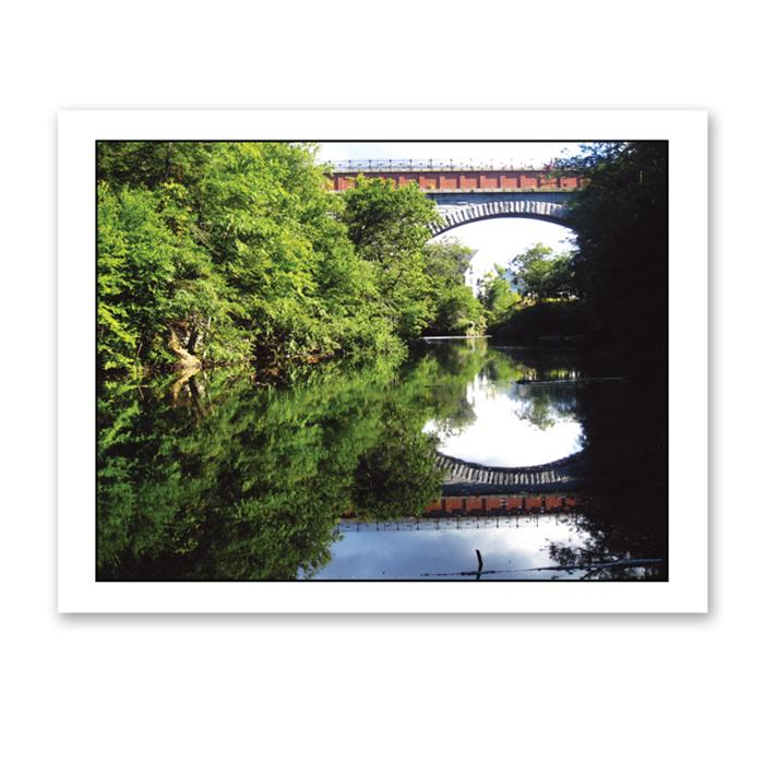 Photo Greeting Card Of Echo Bridge In Newton Massachusetts by Jerry Cohen
