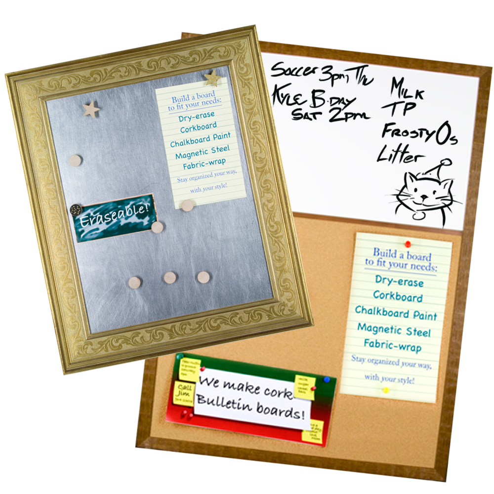 Custom Memo Boards from Frame It/ Waban Gallery